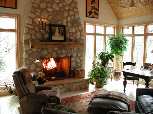 Anders inc french country hearth room 6 for House plans with big kitchens and hearth rooms