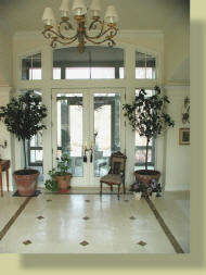 Anders inc french country homes for French country foyer